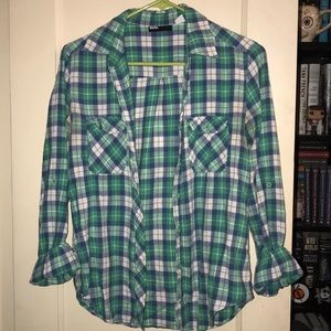 Urban Outfitters BDG Plaid Button-Down size S